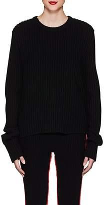Calvin Klein Women's Rib-Knit Wool-Blend Sweater