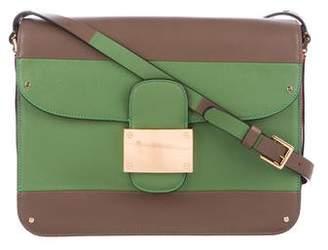 Valentino Rivet Tricolor Leather Bag