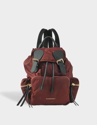 Burberry Rucksack Backpack in Burgundy Red Nylon