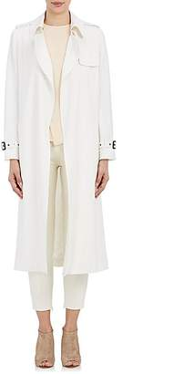 Barneys New York Women's Twill Open-Front Trench Coat