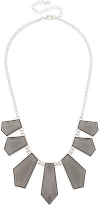 MIXIT Mixit Womens Gray Statement Necklace