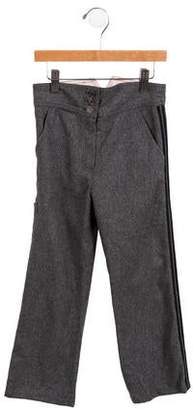 Little Marc Jacobs Girls' Straight-Leg Pants