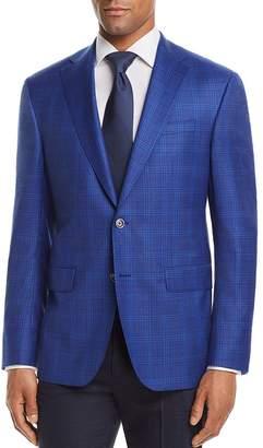Jack Victor Tonal Glen Plaid Regular Fit Sport Coat