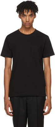Nudie Jeans Black Kurt Worker T-Shirt