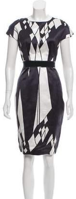 Aquilano Rimondi Aquilano.Rimondi Printed Silk Dress