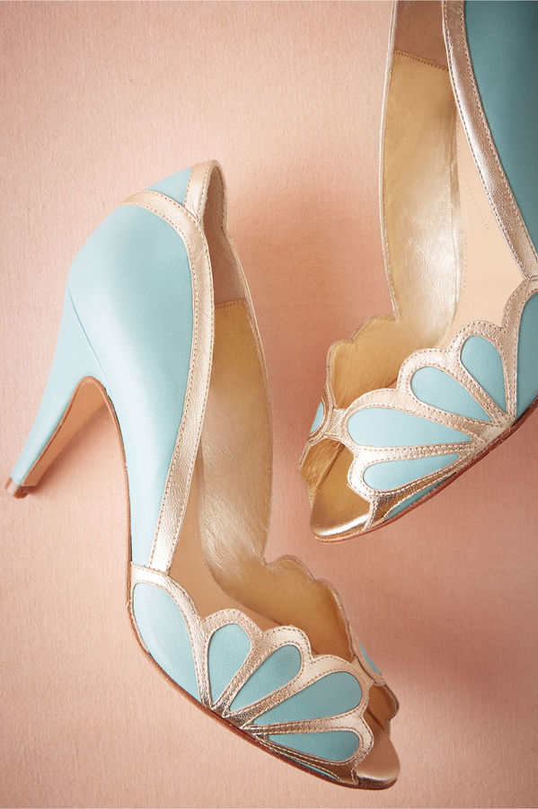 Pastel Blue Heels - ShopStyle Australia