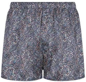Sunspel Floral Boxer Shorts