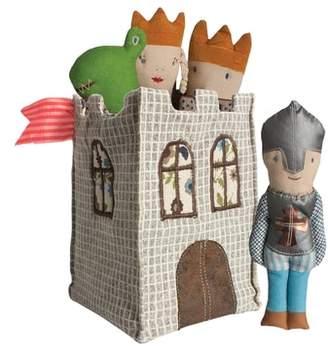 Maileg Castle & Knight Rattle 5-Piece Play Set