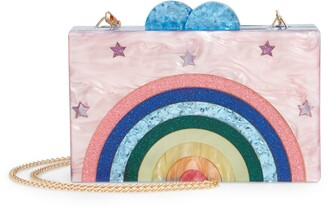 Bari Lynn Happy Box Shoulder Bag