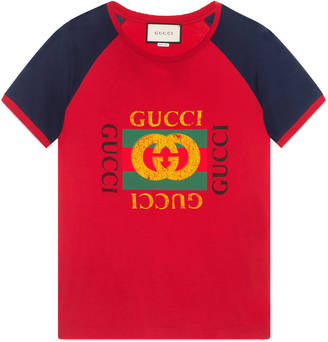 Gucci print cotton t-shirt $460 thestylecure.com