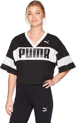 Puma Women's Urban Sports Cropped T-Shirt