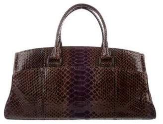 VBH Snakeskin Shoulder Bag