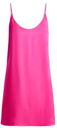 Araks Pearl Silk Satin Slip - Womens - Pink