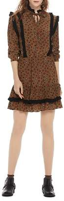 Scotch & Soda Star-Print Prairie Dress