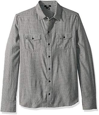 Paige Men's Everett Brushed Cotton Button Down Shirt