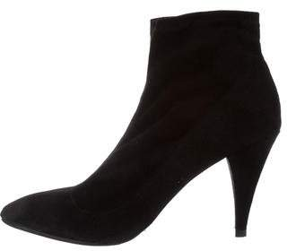 Alice + Olivia Pointed-Toe Ankle Boots