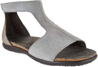Naot Footwear Leather T-Strap Sandals - Nala