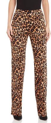 Blugirl Velvet Leopard Print Pants