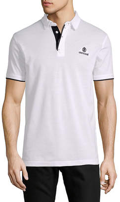 Roberto Cavalli Short-Sleeve Polo