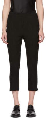 Ann Demeulemeester Black Tale Trousers