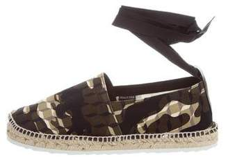 Pierre Hardy Printed Canvas Espadrilles w/ Tags