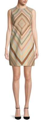 Valentino Wool Silk Sheath Dress