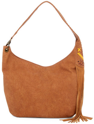 Steve Madden Flynn Faux Leather Hobo $99 thestylecure.com