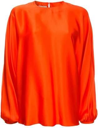 Roksanda floaty bell sleeve blouse