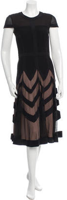 Alice by Temperley Silk Midi Dress $175 thestylecure.com