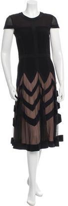 Alice by Temperley Silk Midi Dress $195 thestylecure.com