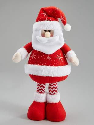 Very 16 Inch Red Standing Santa Christmas Decoration