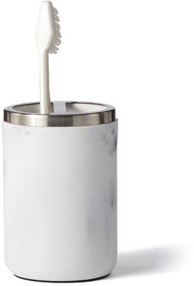 Home Classics Faux Marble Toothbrush Holder