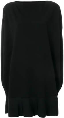 Valentino cape-style dress