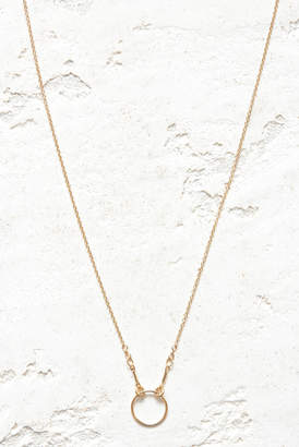 Dogeared Gold Karma Necklace Gold