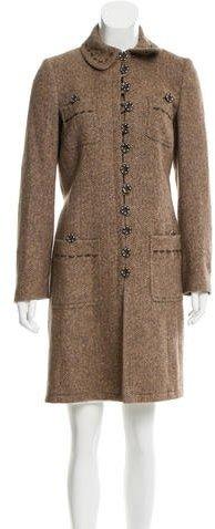 JOSEPHJoseph Wool & Silk-Blend Coat
