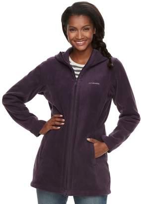 Columbia Women's Three Lakes Hooded Long Fleece Jacket