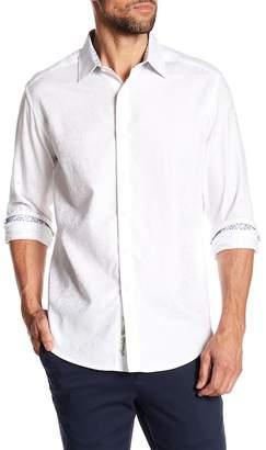 Robert Graham Eldora Classic Fit Paisley Print Woven Shirt