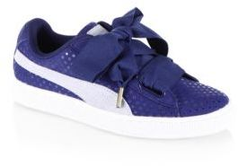 PUMA Basket Heart Sneakers $80 thestylecure.com