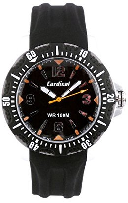 Cardinal Sportzクォーツアナログ腕時計