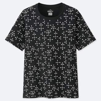Uniqlo Women's Sprz Ny Short-sleeve Graphic T-Shirt (eames)