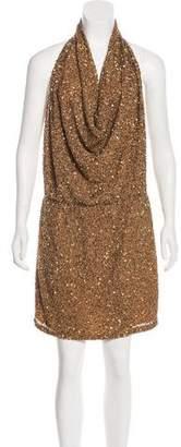 Haute Hippie Sequin Knee-Length Dress