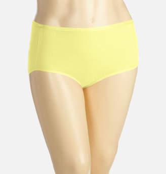 Avenue Yellow Iris Cotton Full Brief Panty
