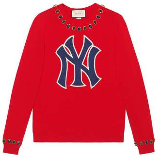 Gucci Women's jumper with NY YankeesTM patch