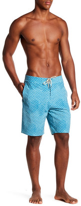 """FAHERTY Printed 9\"""" Boardshort $128 thestylecure.com"""