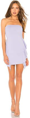 Susana Monaco Jeanna Ruffle Strapless 16 Dress