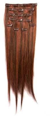 Donna Bella Full Head Human Clip-In Hair Extensions 20