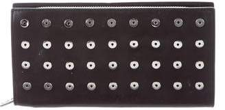 Alexander Wang Grommet-Accented Leather Wallet
