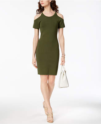 Michael Kors MICHAEL Cold-Shoulder Dress