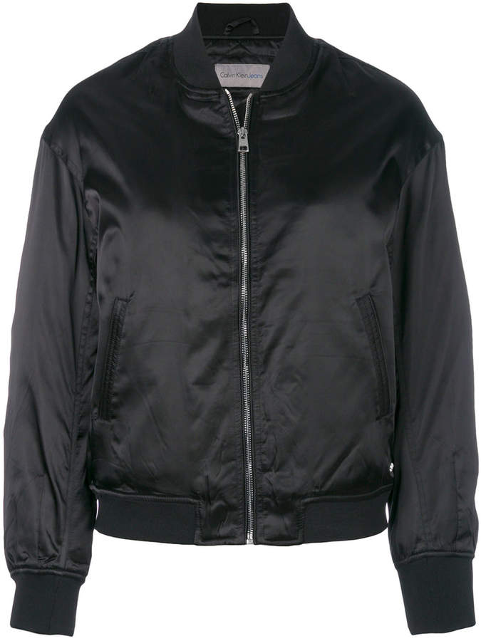 Calvin Klein Jeans quilted bomber jacket