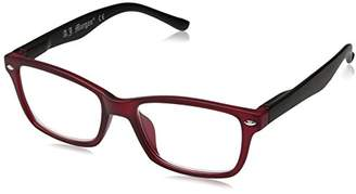 A. J. Morgan A.J. Morgan Unisex-Adult Franky - Power 1.00 54259 Rectangular Reading Glasses
